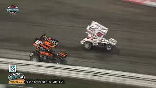 Knoxville Raceway 410 Highlights - August 26, 2017
