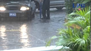 Lluvia continuará durante las próximas horas en el país