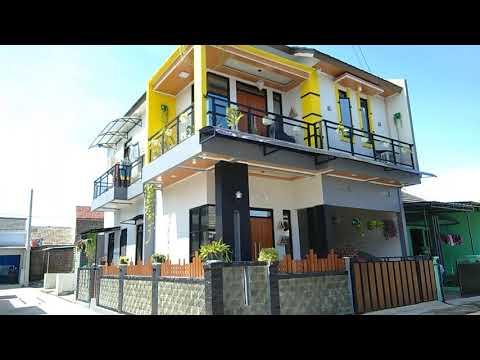 rumah minimalis modern dengan view pegunungan dekat pusat