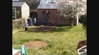 Lawn mowing time lapse