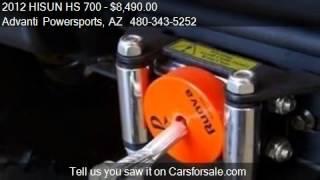 9. 2012 HISUN HS 700 4x4 UTV - for sale in MESA, AZ 85203