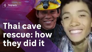 Video Thailand cave rescue: All boys saved - how they did it MP3, 3GP, MP4, WEBM, AVI, FLV Juli 2018