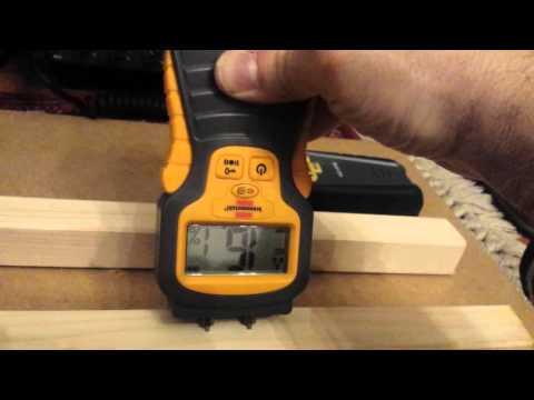 Test misuratori umidita'