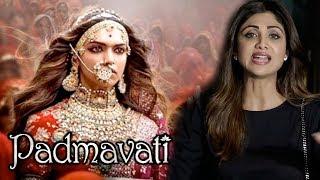 Video ANGRY Shilpa Shetty's REACTION On Deepika's Padmavati Controversy MP3, 3GP, MP4, WEBM, AVI, FLV November 2017