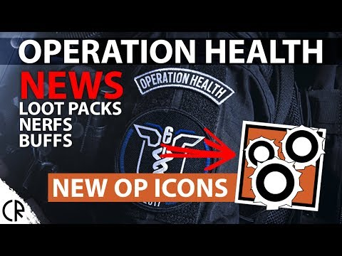 News - Operation Health - Rainbow Six Siege - Alpha Packs Nerfs and Buffs