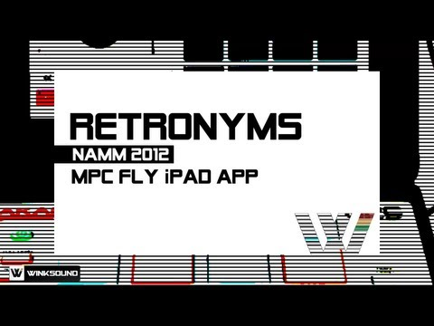 Akai Pro MPC Fly iPad App by Retronyms | WinkSound
