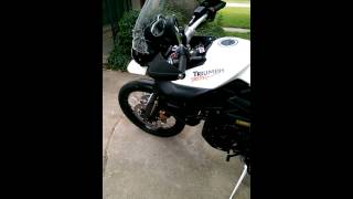 6. Triumph tiger 800 xc walk around