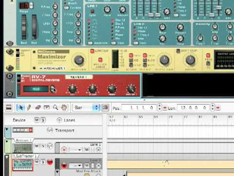 """Create The """"Benny Benassi Synth"""" On Reason! (Tutorial 1)"""