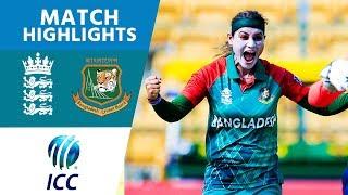 Video ICC #WT20 England Women vs Bangladesh Women Match Highlights MP3, 3GP, MP4, WEBM, AVI, FLV Juni 2018