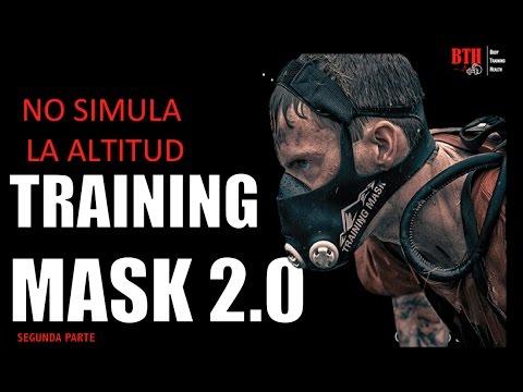 MÁSCARA DE ENTRENAMIENTO (Elevation Training Mask), NO SIMULA LA ALTITUD