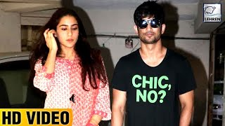 "Sara Ali Khan And Sushant Singh Rajput's ""CHIC"" Outing 