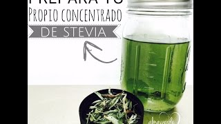 Concentrado Stevia (Home Made) - Alma Verde