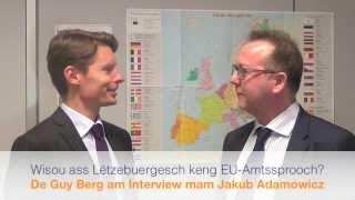 Wisou ass Lëtzebuergesch keng EU-Amtssprooch? Guy Berg: