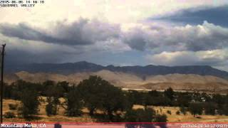 KCASQUIR2 Weather Time Lapse - 20150606