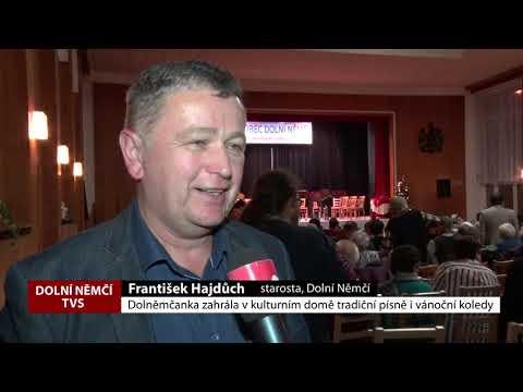 TVS: Dolní Němčí - Vánoční koncert Dolněmčanky