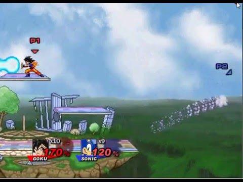 Super Smash Flash 2 - How To Turn Super Saiyan 3!