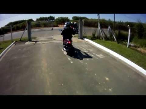 Motonauta roda com a Honda PCX 150