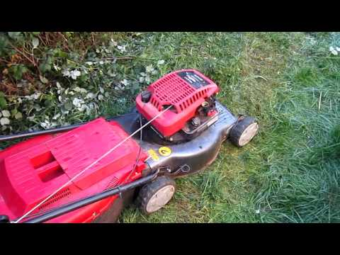 Mountfield SP470 lawnmower PT1 - initial assessment (видео)