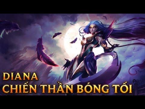 Diana Chiến Thần Bóng Tối - Dark Valkyrie Diana