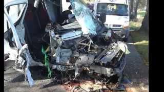 """Tragiczne wypadki busów - """"ekspres"""" śmierci/ Crash bus"""