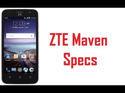 ZTE Maven Specs & Features