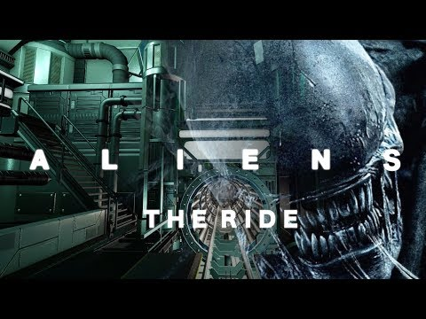 Guy creates an INCREDIBLY detailed thrill ride based on Aliens in the video game, Planet Coaster.