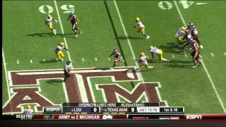Kevin Minter vs Texas A&M (2012)