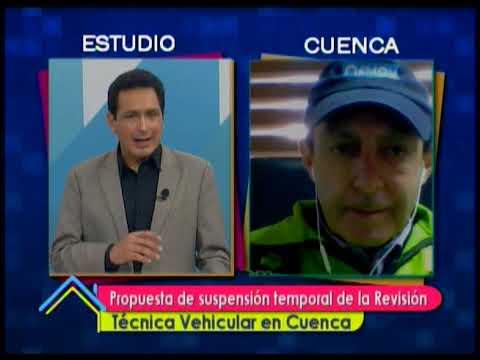 Propuesta de suspensión temporal de la Revisión Técnica Vehicular en Cuenca