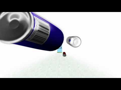 Animated TVC with Red Bull