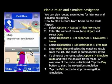 6. ROUTE 66 Maps - Plan a route and use route simulation