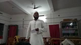 Last event in Jamia Saadiya Kerala