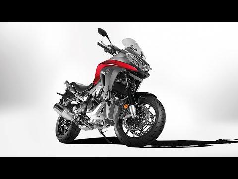 Nova Honda VFR800X 2015 ao pormenor