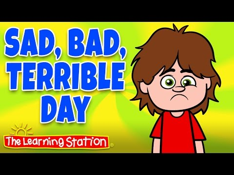 Feelings Song for Children ♫ Emotion Songs for Kids with Words ♫ by The Learning Station