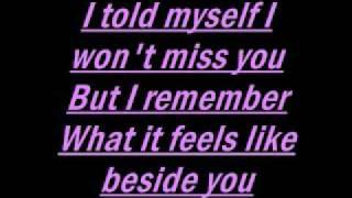 Hinder-Better than me lyrics