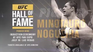 Minotauro Nogueira: Hall of Fame Induction Ceremony by UFC
