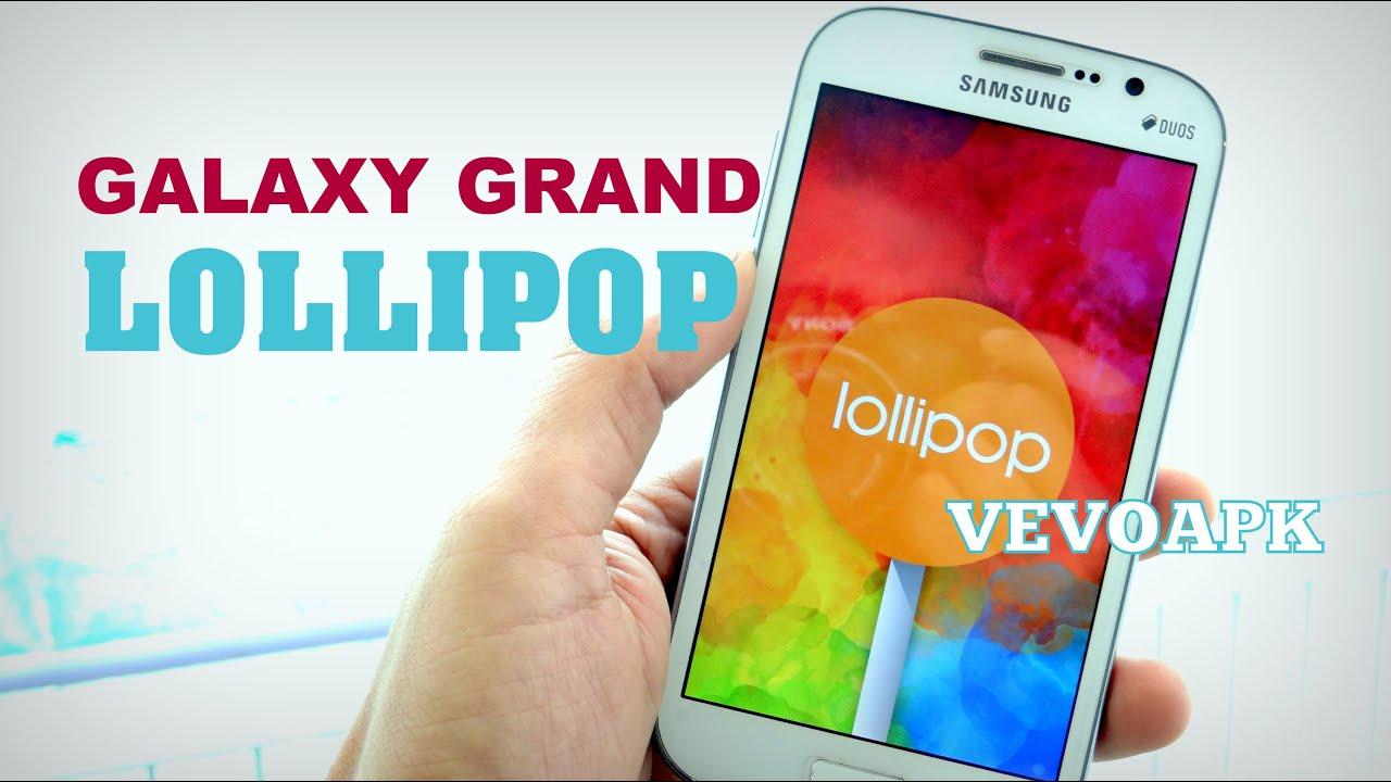 Descargar Android Lollipop For Samsung Galaxy Grand para Celular  #Android