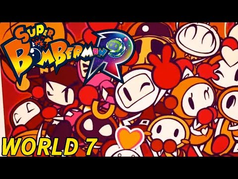 Super Bomberman R (World 7) [CHECKING OUT THE NEW WORLD!]