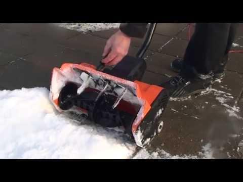 Самодельная электролопата для уборки снега своими руками 8