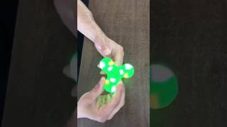 Fidget Spinner toy with Bluetooth speaker plays
