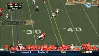 Jake Knott vs Oklahoma State (2012)