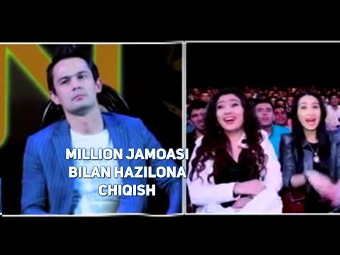 Million jamoasi - Jasur Umirov bilan hazilona chiqish (видео)