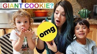 We Tried Making GIANT Stuffed Cookies from Instagram (from My Dessert Diet) | Hannah Williams