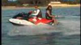 7. Discover the Jet ski seadoo GTX wake