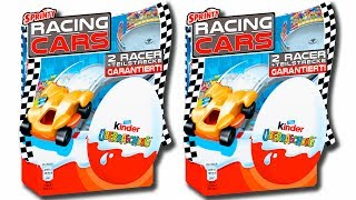 """Unwarping 8 Kinder Surprise Eggs from the Racing Cars 2 Packs. You can find here figures of Cars 2, Hot Wheels, Sprinty Cars. Only cool surprise toys are waiting for you inside these awesome eggs.© Surprise Eggs SHOW: http://youtube.com/user/SurpriseEggsSHOW******************Watch these videos******************8 Jajko Niespodzianka Masza i Niedzwiedz Kinder Niespodzianka Маша и Медведь Jajka 2017https://youtu.be/z69v5RCMxJs3 Surprise Eggs Finding Dory Orange Plastic Eggs for kids from Candy Planethttps://youtu.be/3WZ3XShS3Qw3 Surprise Eggs Little Mole 3 Green Plastic Eggs from Super Surprise for kidshttps://youtu.be/Tffl70uXCPoMusic:""""Vivacity"""" Kevin MacLeod (incompetech.com)""""Beachfront Celebration"""" Kevin MacLeod (incompetech.com)Licensed under Creative Commons: By Attribution 3.0http://creativecommons.org/licenses/by/3.0/"""