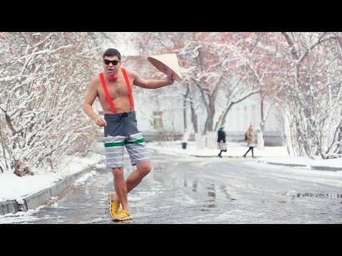 Мурзилки Int. - пародия «На белом покрывале января»