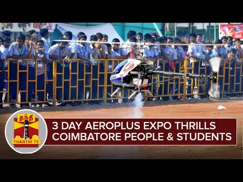 3-Day-Aeroplus-expo-thrills-Coimbatore-People-and-Students--Thanthi-TV