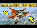 Gta 5 Online  5 New Glitches Amp Tricks  Fly Oppressor Mkii Upside Down Super Speed Glitch Amp More