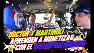 Dr. García y Martinoli aprenden a monetizar con el Escorpión Dorado