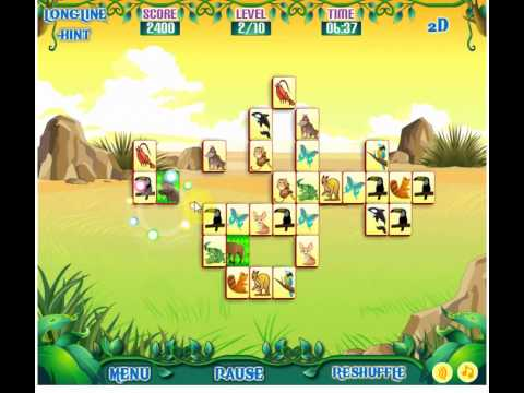 free games online no download mahjong safari