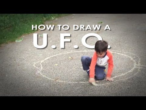 Action Movie Kid How to Draw a UFO